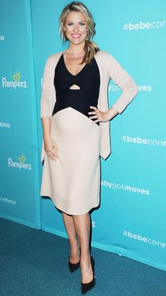 Chic Celebrity Maternity Style - Ali Larter, August 2014 - from InStyle.com