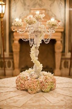 center piece at tables or at the name cards table