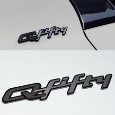 High Quality Car Q fifty Emblem Detailpart decal car name for INFINITI Q & Q50 #Detailpart