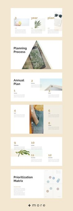 Simple layout presentation design template: Planner 2018 business planning #keynote