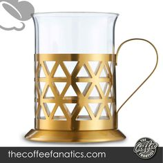VonShef French Press Coffee Cafetiere Set with Milk Frother and 4 Serving Cups, Stainless Steel, Glass and Gold, 34 Fluid Ounces, 8 Cup Capacity VonShef 8 Cup French Press Set. Unleash your inner barista with this fantastic VonShef 8 Cup Cafetière Set. Best French Press Coffee, Barista, Cups, Milk, Good Things, Stainless Steel, Glass, Mugs, Drinkware