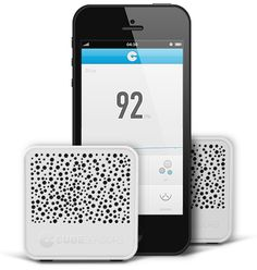 CubeSensors:  small, cordless and connected devices that continuously measure temperature, humidity, noise, light, air quality and barometric pressure for every room, they can even pick up unwanted vibrations that shake up your building.