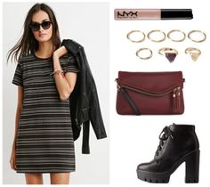 Fabulous Find of the Week: Forever 21 Striped T-Shirt Dress - College Fashion
