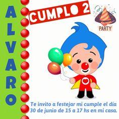 Tarjetas Imprimibles - Plim Plim A 17, Aurora, Happy Birthday, Printables, Printable Cards, Food Cakes, Birthday Party Invitations, Clowns, Drawings