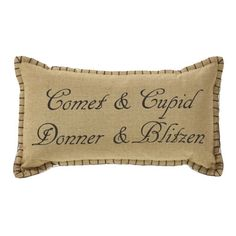 Prancer Cotton Lumbar Pillow