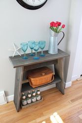 Amy Table - Seacoast Custom Furniture - rustic side table