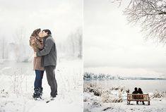 Winter Engagement Love Shoot