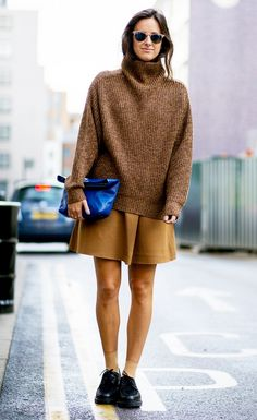 Tip of the Day: How to Wear Head-to-Toe Camel via @WhoWhatWear