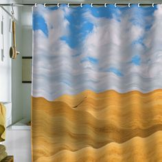 Lisa Argyropoulos Serenity Shower Curtain $89.00