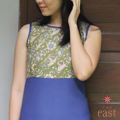 Modern style of batik dress, blouse, tops, for young sophisticated ladies. www.facebook.com/... #theeast #batik #dress #blouse #madeinindonesia