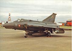 Danish Air Force Saab Sk-35XD Draken  AR-111, 1993