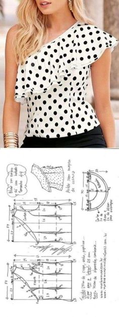 Amazing Sewing Patterns Clone Your Clothes Ideas. Enchanting Sewing Patterns Clone Your Clothes Ideas. Dress Sewing Patterns, Blouse Patterns, Clothing Patterns, Blouse Designs, Fashion Sewing, Diy Fashion, Ideias Fashion, Moda Fashion, Fashion Games