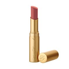 NEW SHADE: Too Faced La Creme Color Drenched Lipstick in Sugar Daddy. #toofaced - Too Faced Cosmetics