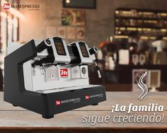 🇪🇸Les presentamos a la nueva integrante de la familia, ideal para tu #CoffeeShop 🇺🇸 We introduce you our new family member. It's ideal for your #CoffeeShop