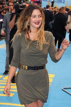 Celebrity Tattoos - Drew Barrymore #tattoos #ink #celebrity