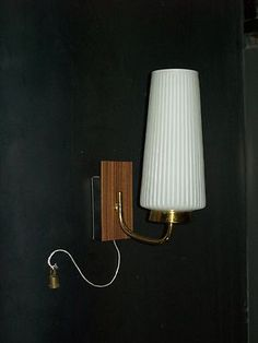 ANCIEN APPLIQUE LAMPE CO...