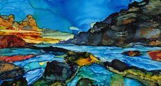 Sheryl Williams Art – Alcohol Ink Techniques and Paintings