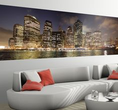 Do you like the #BigApple ? #NewYork is one of the most famous cities in the world. #Decorate your home with this amazing #PhotoMural from #tenstickers