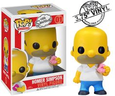 the simpsons pop vinyl figures - Homer Simpson