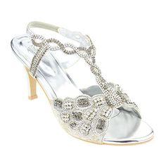 Aarz Frauen-Dame-Abend Diamante High Heel Sandaletten Abschlussball-Party Hochzeit Brautschuhe Größe (Gold, Silber, Türkis) - http://on-line-kaufen.de/aarz-london/aarz-frauen-dame-abend-diamante-high-heel-party-3