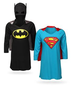 ThinkGeek :: Superheroine Sleep Shirts, save the world in my sleep!