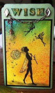 oct 6.  Octobers Blog challenge for Lavinia Stamps