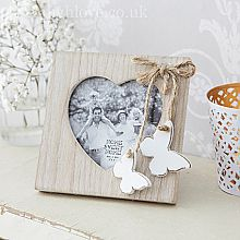 Mini Double Butterfly Photo Frame