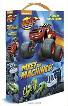 Amazon.com: Meet the Machines! (Blaze and the Monster Machines) (Friendship Box) (9781101936788): Random House: Books
