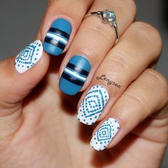 Have a boho chic inspired nail art with the help of this detailed video tutorial. Know the techniques and products needed to achieve this manicure.