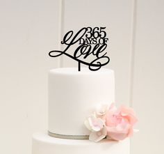 Original 365 Days of Love First Anniversary by ThePinkOwlGifts