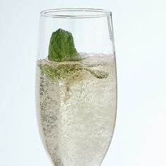 Whether you celebrate the day of love with your spouse, kids, or girlfriends, we've got the perfect healthy drinks for Valentine's Day - like this Elderflower Sparkler recipe. #valentinesday #healthydrinkrecipes #drinkrecipes #cocktails #everydayhealth | everydayhealth.com