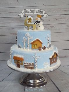 Winter cake :) by Eliza