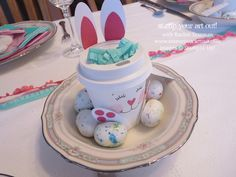 Spring Tea and Easter Treats… Stampin' Up!® - Stamp Your Art Out! www.stampyourartout.com