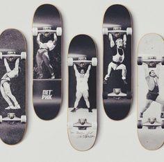 Gewichtheber Skateboards