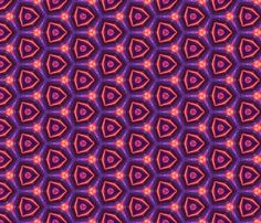 psychedelic_purple_orange_pink_designs fabric by southernfabricdiva on Spoonflower - custom fabric