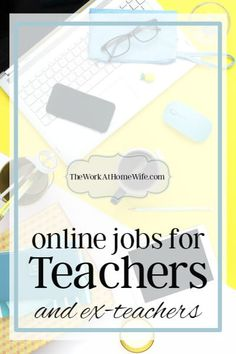 Online Teaching Jobs: Everything You Need to Know - Online Courses - Ideas of Online Courses - There are lots of opportunities for teachers and former teachers to make money online while putting their teaching experience to great use. Ways To Earn Money, Earn Money From Home, Earn Money Online, Make Money Blogging, Way To Make Money, How To Make, Money Fast, Earning Money, Money Tips