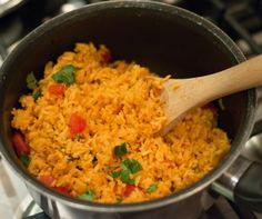 Mexican Rice. Sonoran Mexican style rice recipe made with simple, authentic ingredients.
