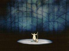 """"""" Parsifal """" 3.Akt 1.Bild 1966 Wieland Wagner Bühnenphoto"""