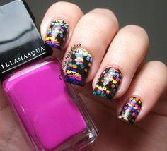 The Clockwise Nail PolishReview: StampAholics ST01 Plate