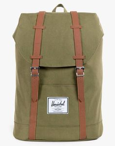Herschel Supply Co. Retreat Backpack - Army - RouteOne.co.uk