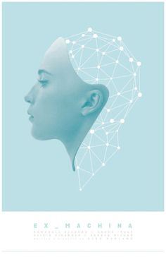 Ex Machina Film Poster by sap41387 on Etsy                                                                                                                                                                                 More