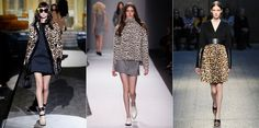 undefinedFall 2014 Fashion Trend: Leopard  Much like plaid, this evergreen trend has showed up everywhere on the runways. What's interesting though is the ultra-feminine take on it. Ladylike silhouettes breathe life into the perennial trend.