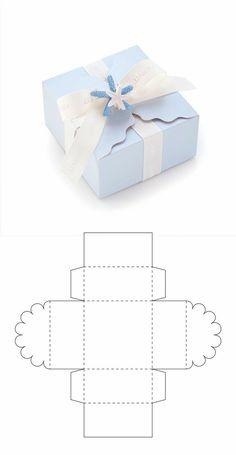 Diy Geschenk Basteln – Cajita para recuerdo de bautizo - Gifts For Teens Packaging Carton, Gift Packaging, Paper Gift Box, Paper Gifts, Diy Paper Box, Paper Boxes, Paper Folding, Gift Boxes, Paper Art