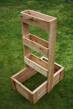 Huerto vertical para espacios pequeños.