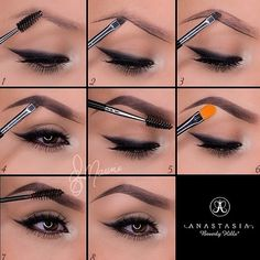 Brows correction #makeup #tutorial #evatornadoblog