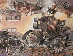 Коты и кошки Н. Соколовой — Yandex.Disk Views Album, Art Pieces, Artwork, Artist, Animals, Cats, Work Of Art, Animales, Auguste Rodin Artwork