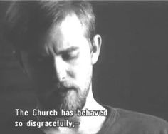 """Varg Vikernes, a.k.a Count Grishnakh of Burzum being interviewed for the black metal documentary """"Until the Light Takes Us"""""""