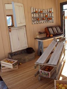Shabby Shelf tutorial http://antiquedaisy.blogspot.com/2010/10/shabby-chic-shelving-tutorial.html
