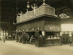Central Railway Station, Sydney - snack bar on Assembly Platform  State Records NSW