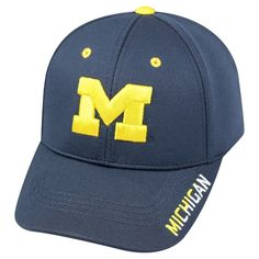 b4c1057e22a Baseball Hats NCAA Michigan Wolverines Team Color